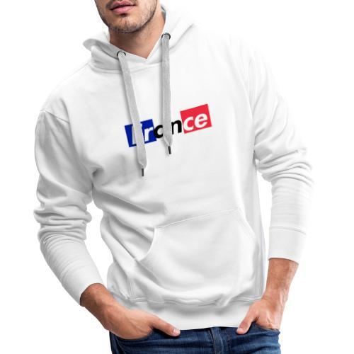 Drapeau France Coupe Du Monde 2018 - Sweat-shirt à capuche Premium pour hommes