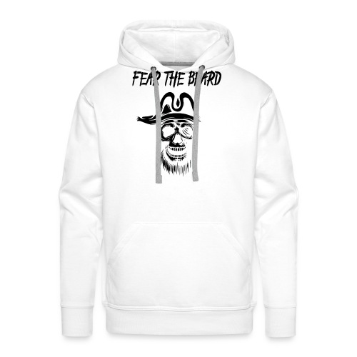 Fear the Beard - Männer Premium Hoodie