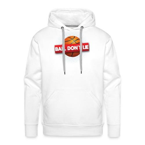 Der Ball lügt nicht - Männer Premium Hoodie