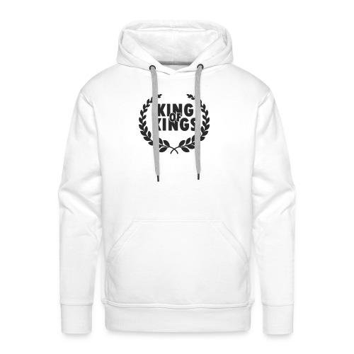 King of kings - Sudadera con capucha premium para hombre