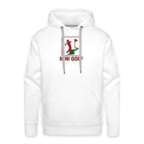 Minigolf - Männer Premium Hoodie