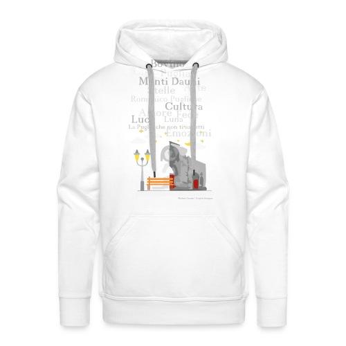 Duomo Graphic - Felpa con cappuccio premium da uomo