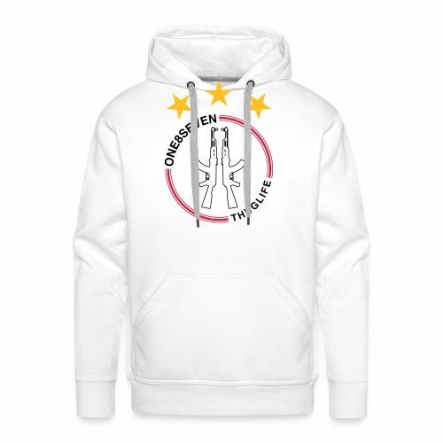 187 JAXIE AMSTERDAM - Mannen Premium hoodie