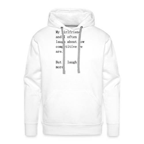 Couple Comedy - Men's Premium Hoodie
