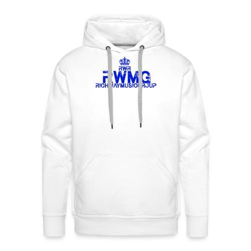 RWMG_Blue - Mannen Premium hoodie