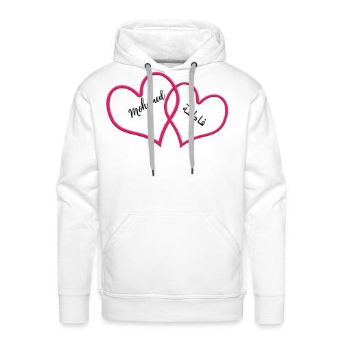 Mohamed et Fatima - Sweat-shirt à capuche Premium pour hommes