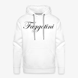 Faggotini - Sweat-shirt à capuche Premium pour hommes