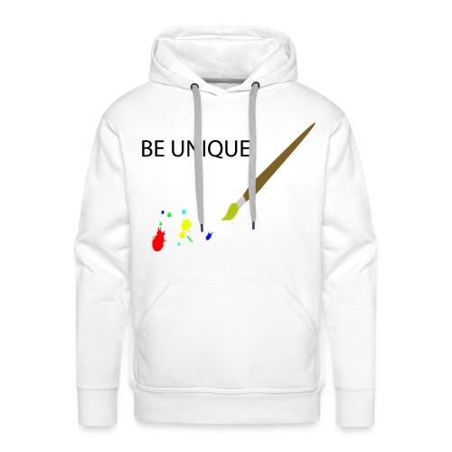 Be Unique - Männer Premium Hoodie