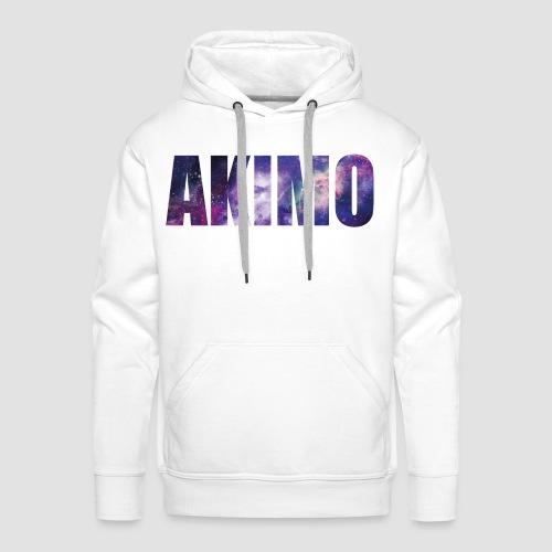 AKIMO Basic Galaxy - Männer Premium Hoodie
