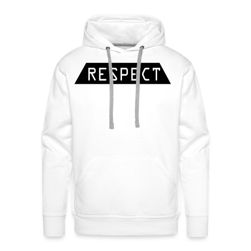 Respect - Premium hettegenser for menn
