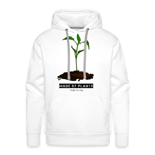 Made by plants - Men's Premium Hoodie