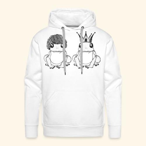 Crapaud - Sweat-shirt à capuche Premium pour hommes