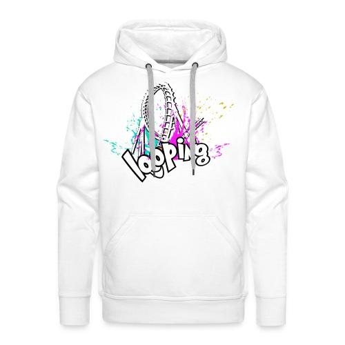 Looping - Sweat-shirt à capuche Premium pour hommes