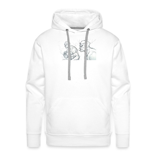 Drawing_1-jpg - Men's Premium Hoodie