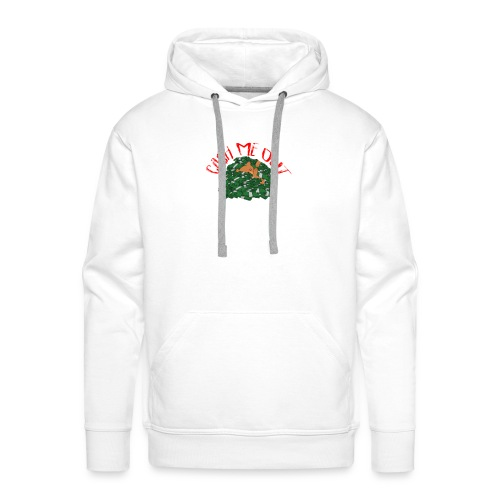 Cash Me Out Teddy - Mannen Premium hoodie