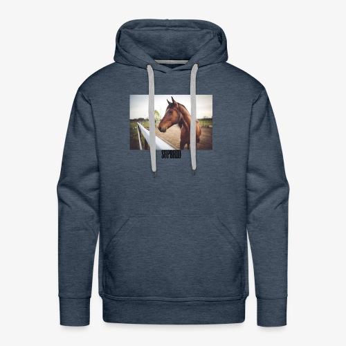 horsesupbrid - Männer Premium Hoodie