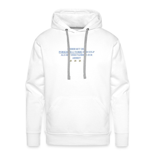 PORSCHETURBOGOLF - Männer Premium Hoodie