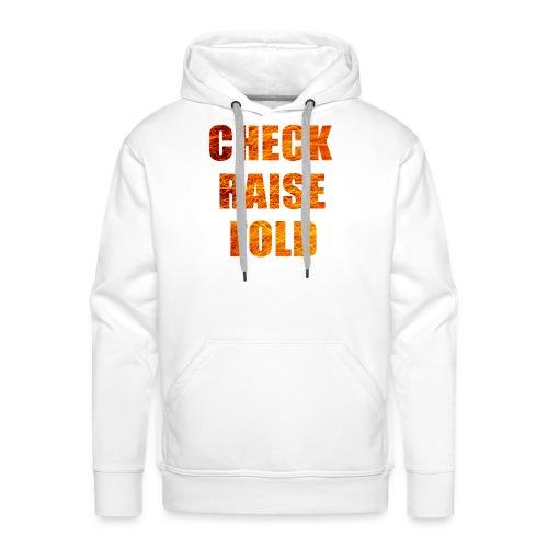 Check Raise Shirt - Men's Premium Hoodie