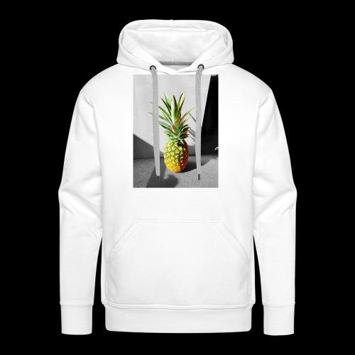 Ananas colorless X colorful - Männer Premium Hoodie