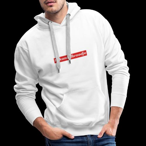 Frikandelbroodje - Mannen Premium hoodie