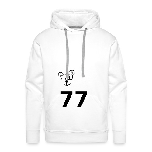 77 for the win - Männer Premium Hoodie