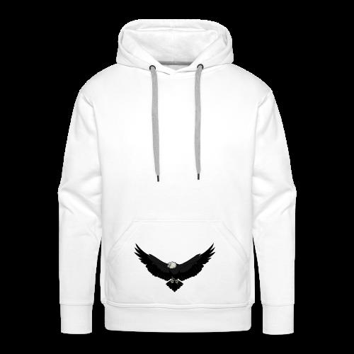 White BlackEagle Edition - Männer Premium Hoodie