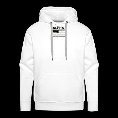 ALPHA - Männer Premium Hoodie