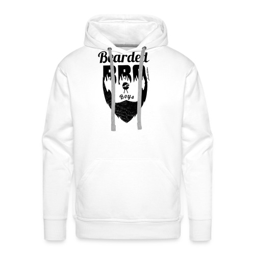 Berded BBQ Boys BLack Edition - Männer Premium Hoodie