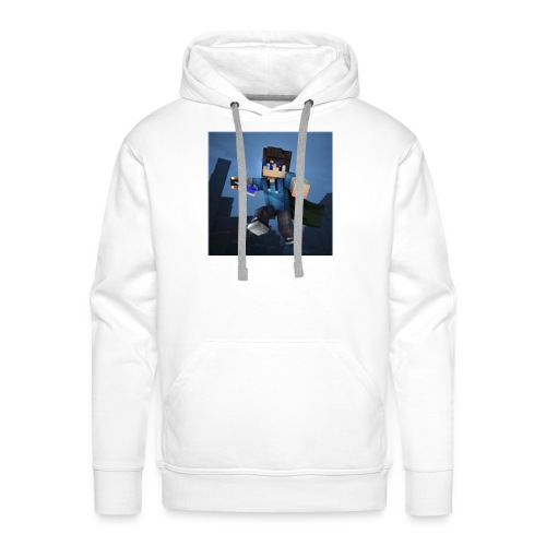 SpartaJamo's First shirt - Men's Premium Hoodie