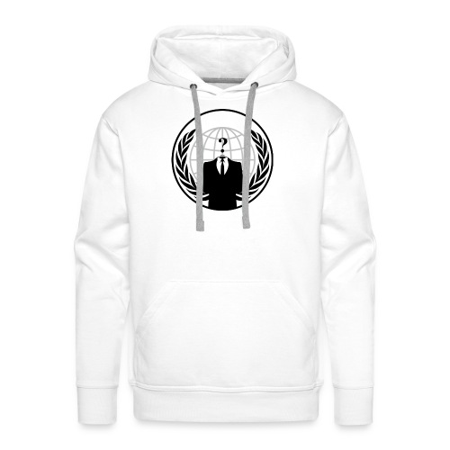 anonymous LOGO - Sweat-shirt à capuche Premium pour hommes