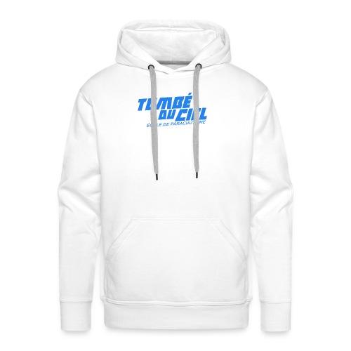 Logo TDC BLEU 2018 - Sweat-shirt à capuche Premium pour hommes
