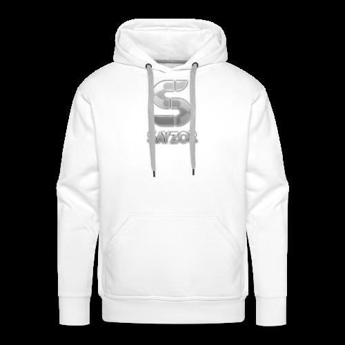 White 2017 Sayzor Merch! - Men's Premium Hoodie