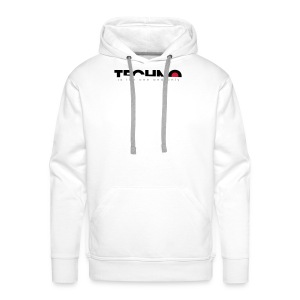 Techno is the one and only - Männer Premium Hoodie