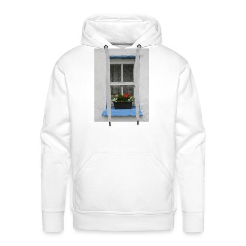 Cashed Cottage Window - Men's Premium Hoodie