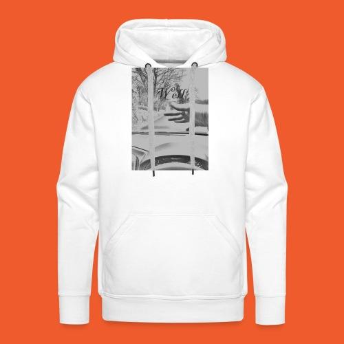 Well wave T-Shirt - Men's Premium Hoodie