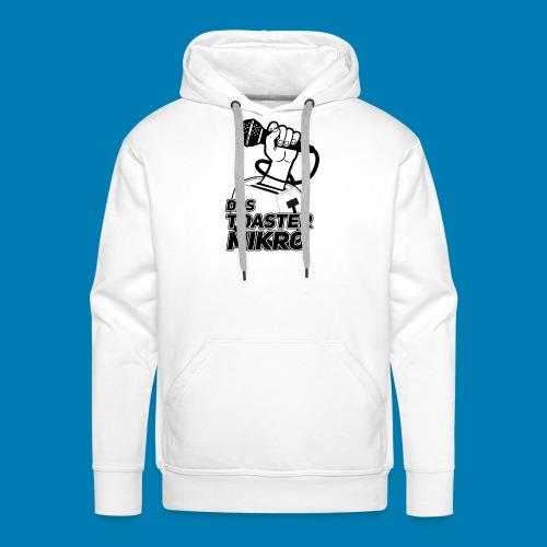 Toaster-Mikrofon Logo - Männer Premium Hoodie