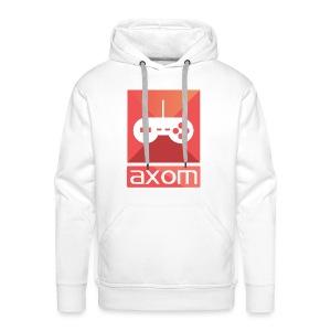 Axom Logo Vertical - Männer Premium Hoodie