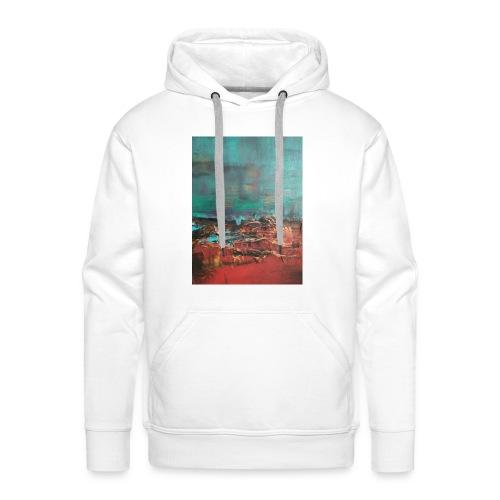 Abstract - Felpa con cappuccio premium da uomo