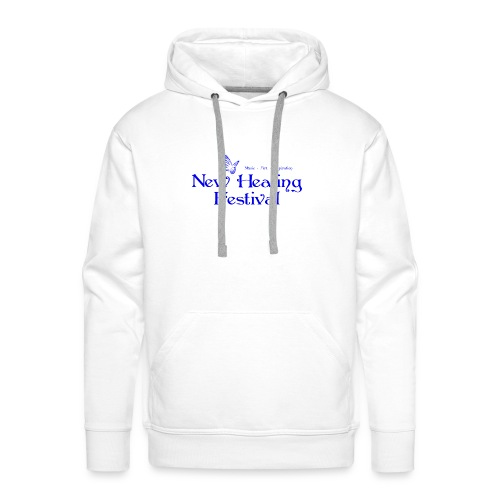 New Healing Logo blau - Männer Premium Hoodie