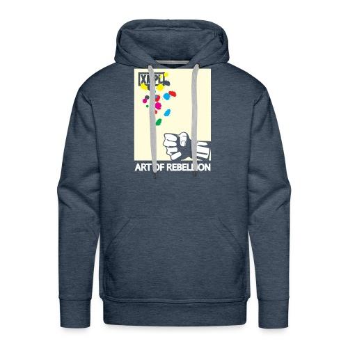 artOFrebellion - Felpa con cappuccio premium da uomo