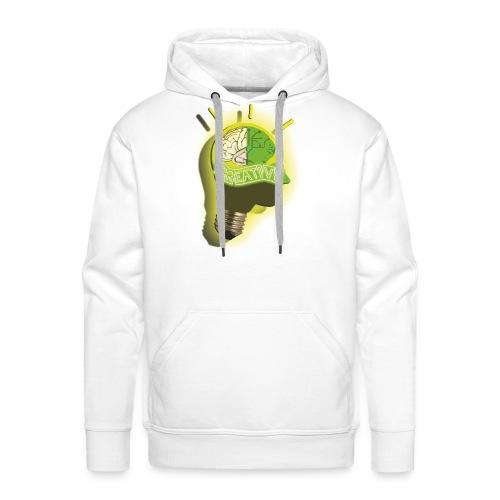 CREATIVE_SNARF - Sudadera con capucha premium para hombre