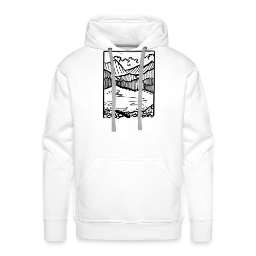 Finding Nature - Men's Premium Hoodie