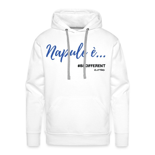 Napule è... by #BeDifferent Clothing - Felpa con cappuccio premium da uomo