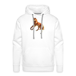 Fox of the night - Men's Premium Hoodie