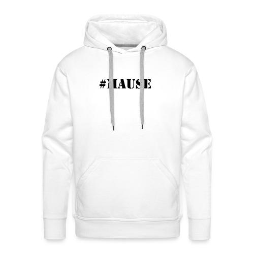 #Mause Mannen - Mannen Premium hoodie