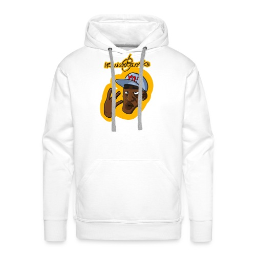 Nigga Rap - Felpa con cappuccio premium da uomo
