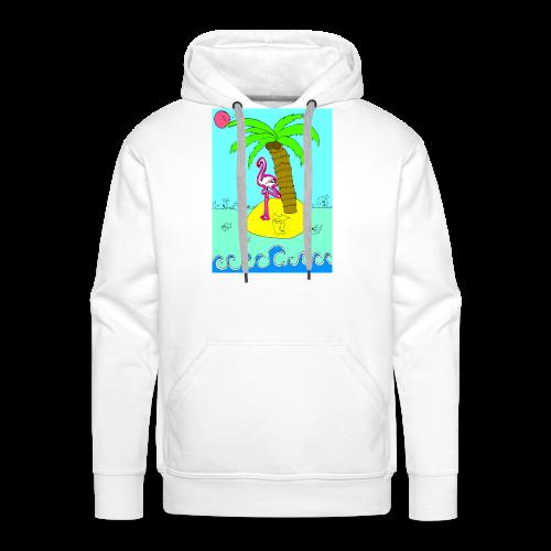 Flamingo - Männer Premium Hoodie