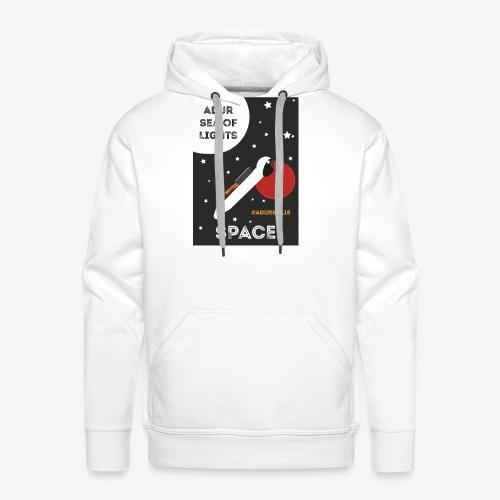 #ADURSOL18 Space Theme - Men's Premium Hoodie