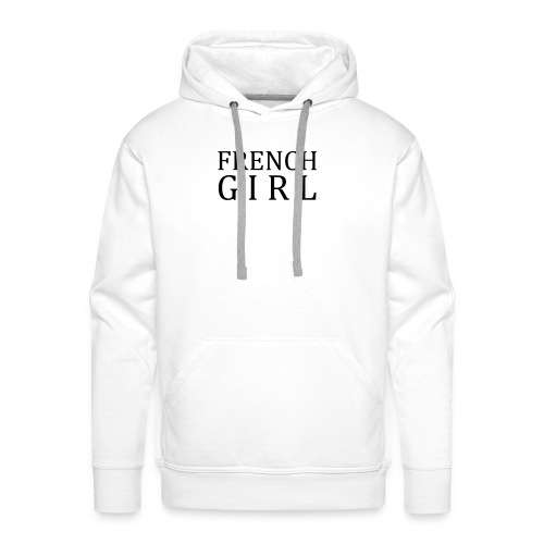 Vêtements - FrenchGirl - Sweat-shirt à capuche Premium pour hommes