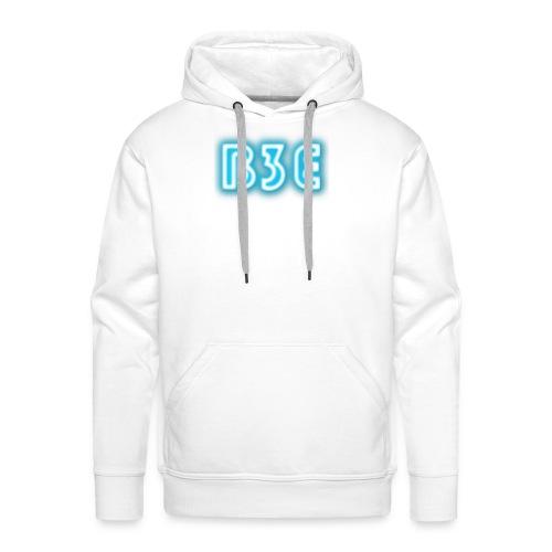 B3E: Logo - Neon - Men's Premium Hoodie